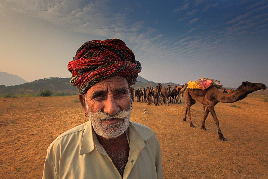 INDIA - Festival dei cammelli Pushkar